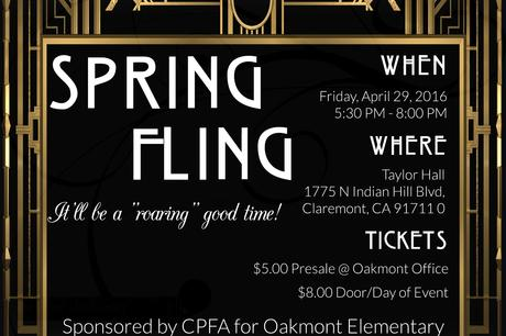 Oakmont Family Dance is Coming Up!